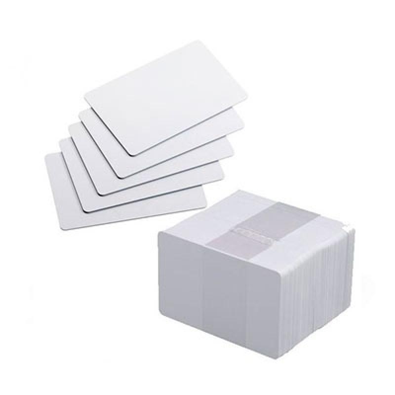 Cartão de Pvc Branco para Crachá Preço Vila Leopoldina - Cartão em Pvc Branco