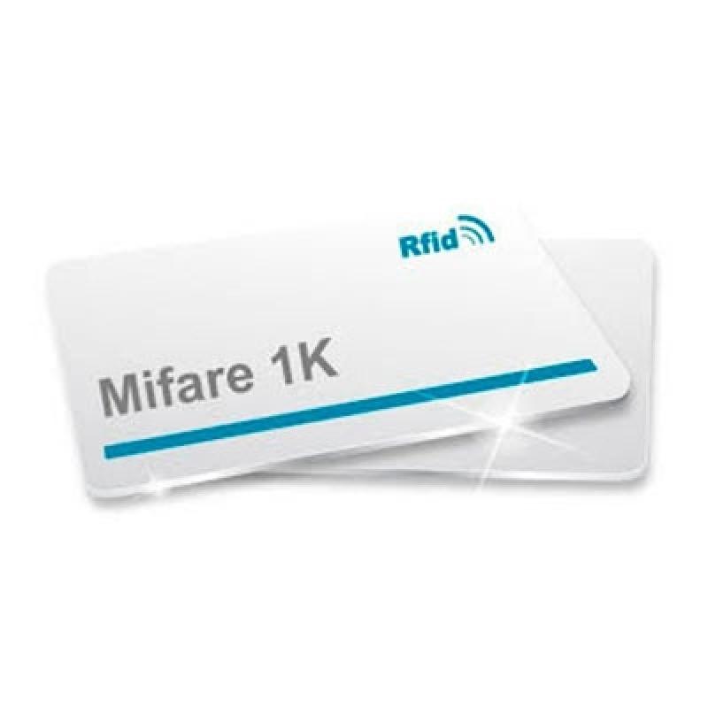 Cartão de Pvc Mifare Preço Araraquara - Cartão em Pvc