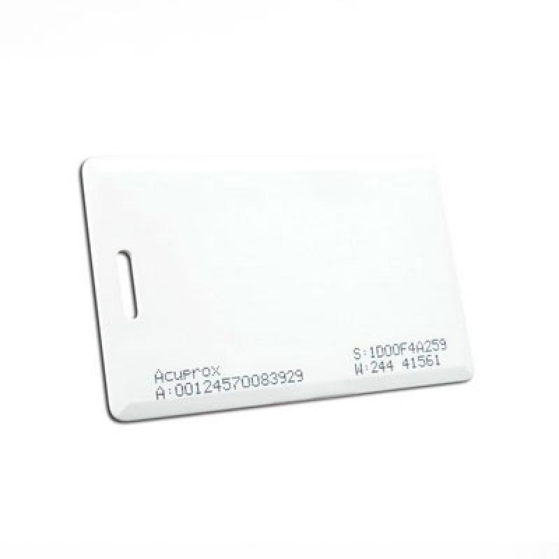 Cartão Pvc Acura Guararema - Cartão Pvc Hid