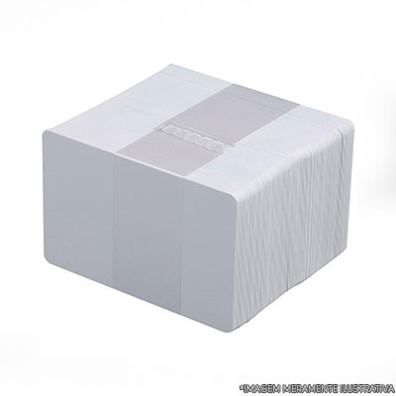 Cotação de Cartão Pvc Branco Pinheiros - Cartão Pvc Branco para Crachá