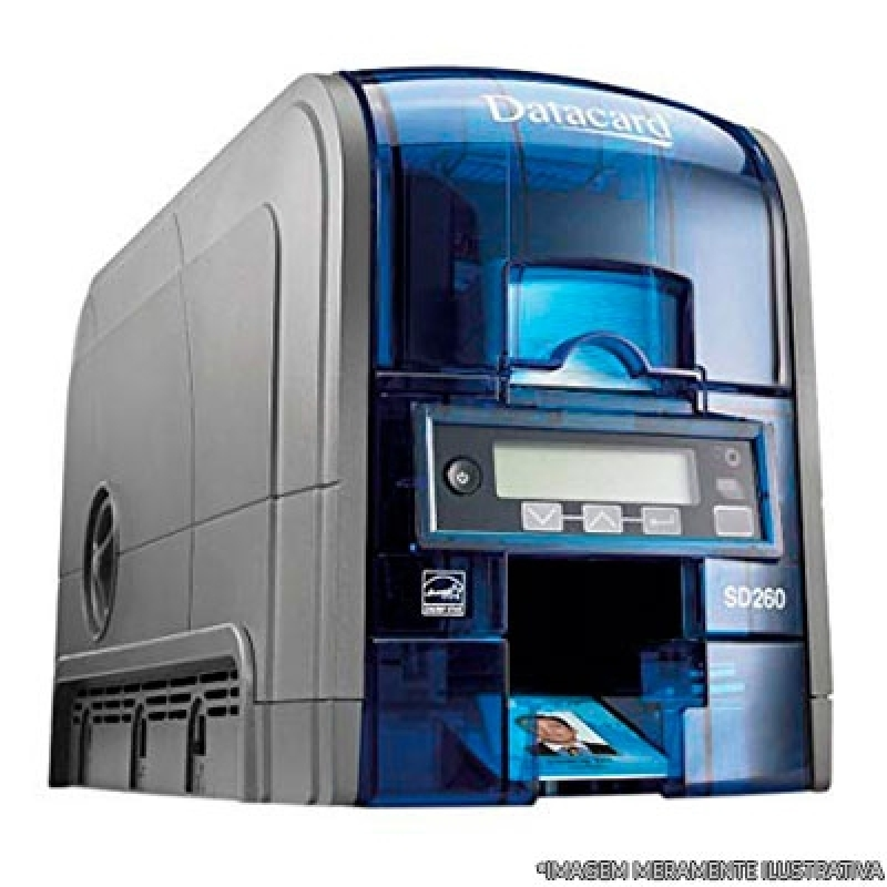 Impressora Datacard Taboão da Serra - Impressora de Cartão