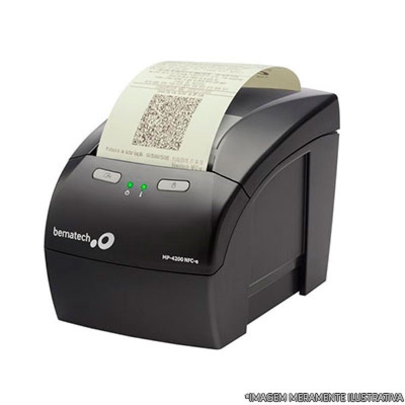 Impressora de Cupom Fiscal Ibirapuera - Impressora Zebra