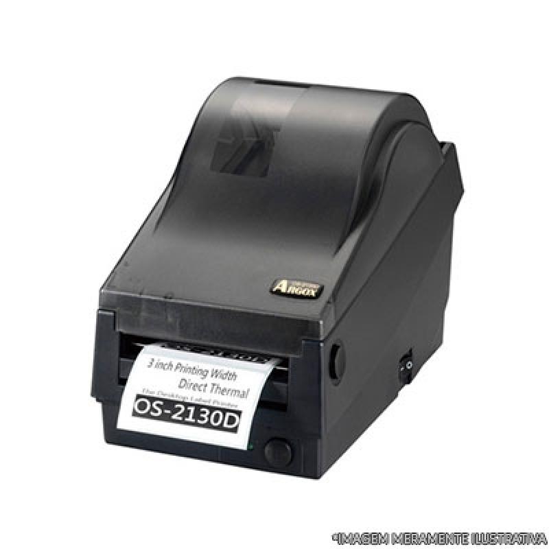 Impressora de Etiquetas Argox Preços Carapicuíba - Impressora de Etiquetas