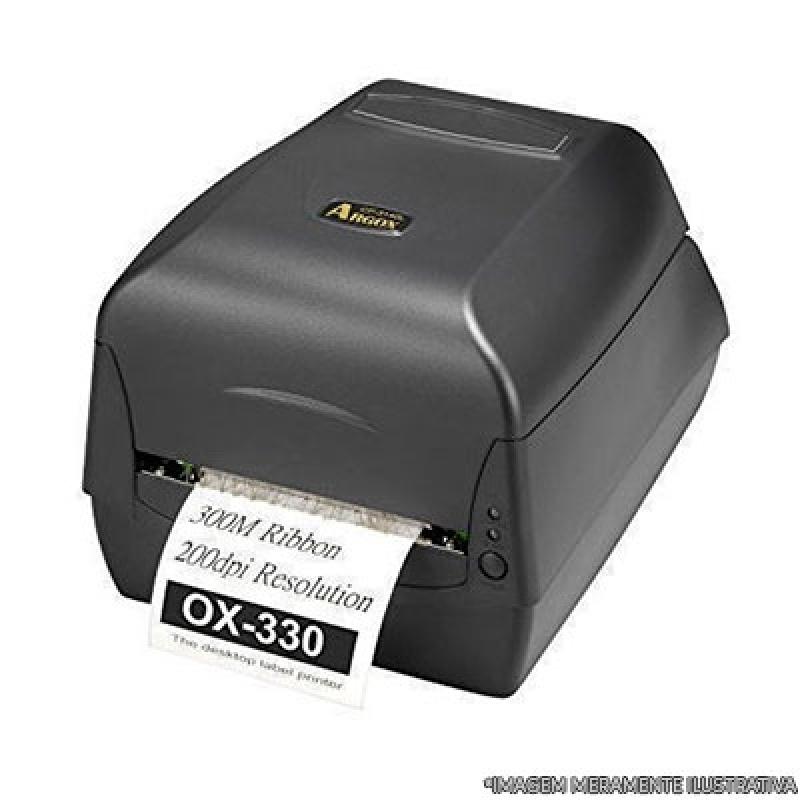 Impressora de Etiquetas Argox Jaçanã - Impressora de Crachá