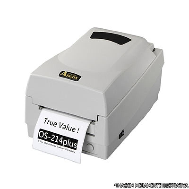 Onde Compro Impressora de Etiquetas Chácara Inglesa - Impressora de Crachá