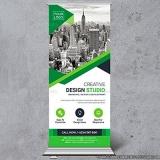 banner de lona personalizado Vila Cordeiro