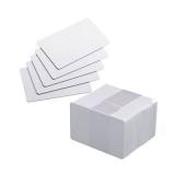 cartão de pvc branco para crachá preço Penha