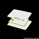 cartão de pvc mifare Alto da Boa Vista