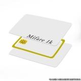 cartão de pvc mifare