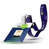 cordões para crachás personalizado Itatiba