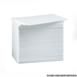 cotação de cartão pvc branco para crachá Santos