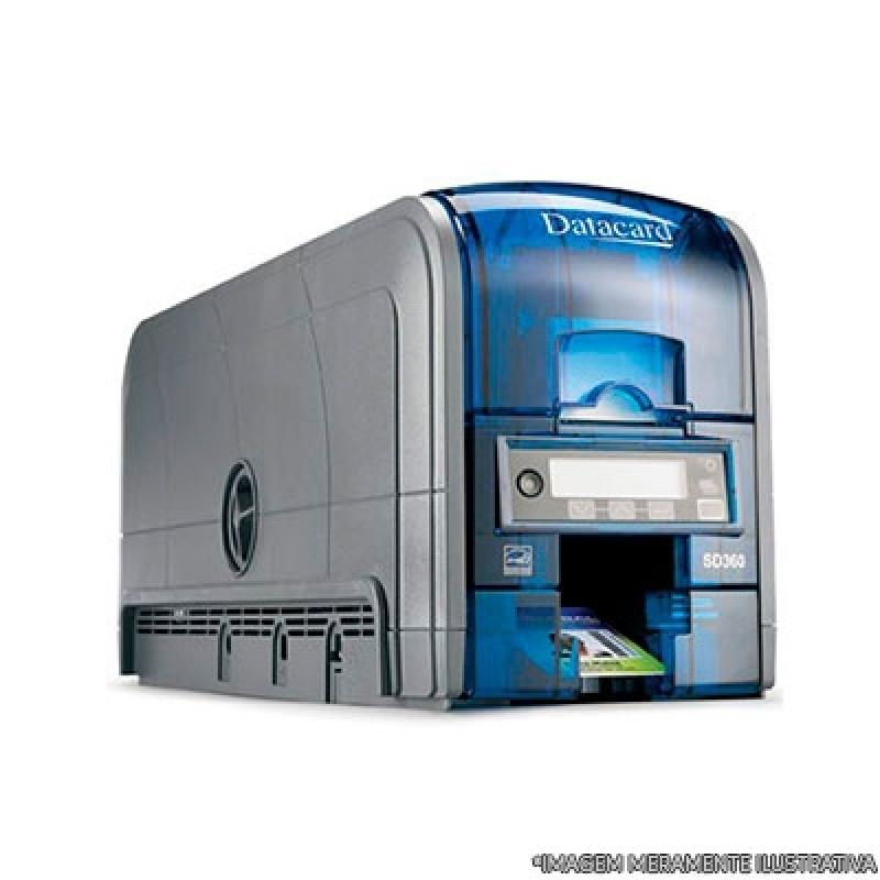 Venda de Impressora Datacard Campo Belo - Impressora de Crachá