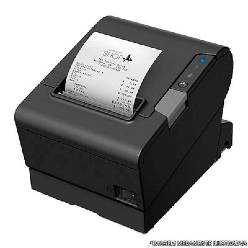 Venda de Impressora de Cupom Fiscal Vila Andrade - Impressora Zebra
